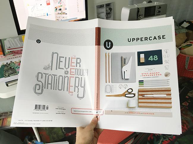 Sneak Peek of Uppercase 48