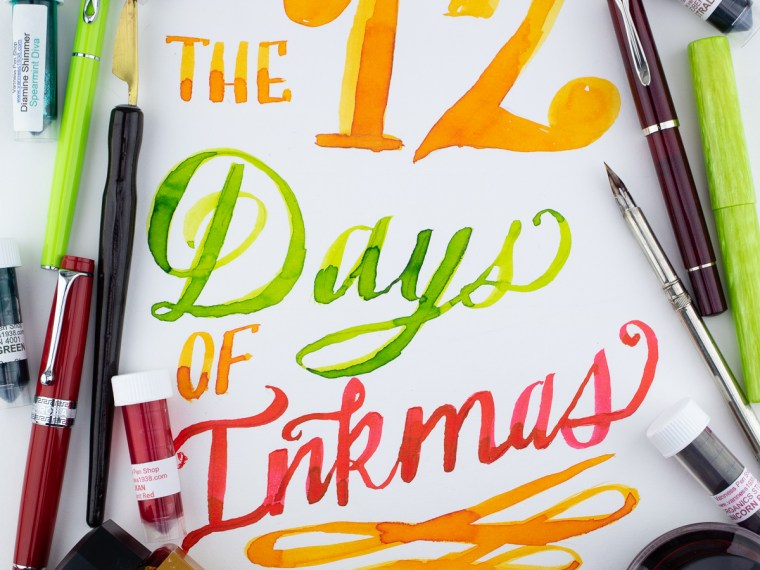 12 Days of Inkmas:  A Robert Oster Holiday Part 2 (Day 11)