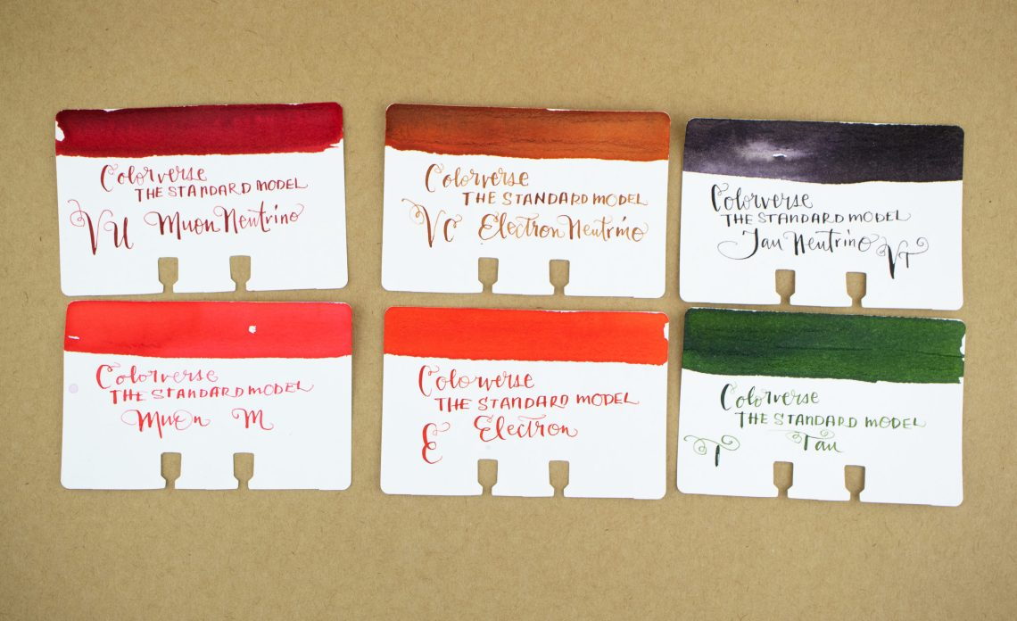 Colorverse Standard Model Leptons Swatches