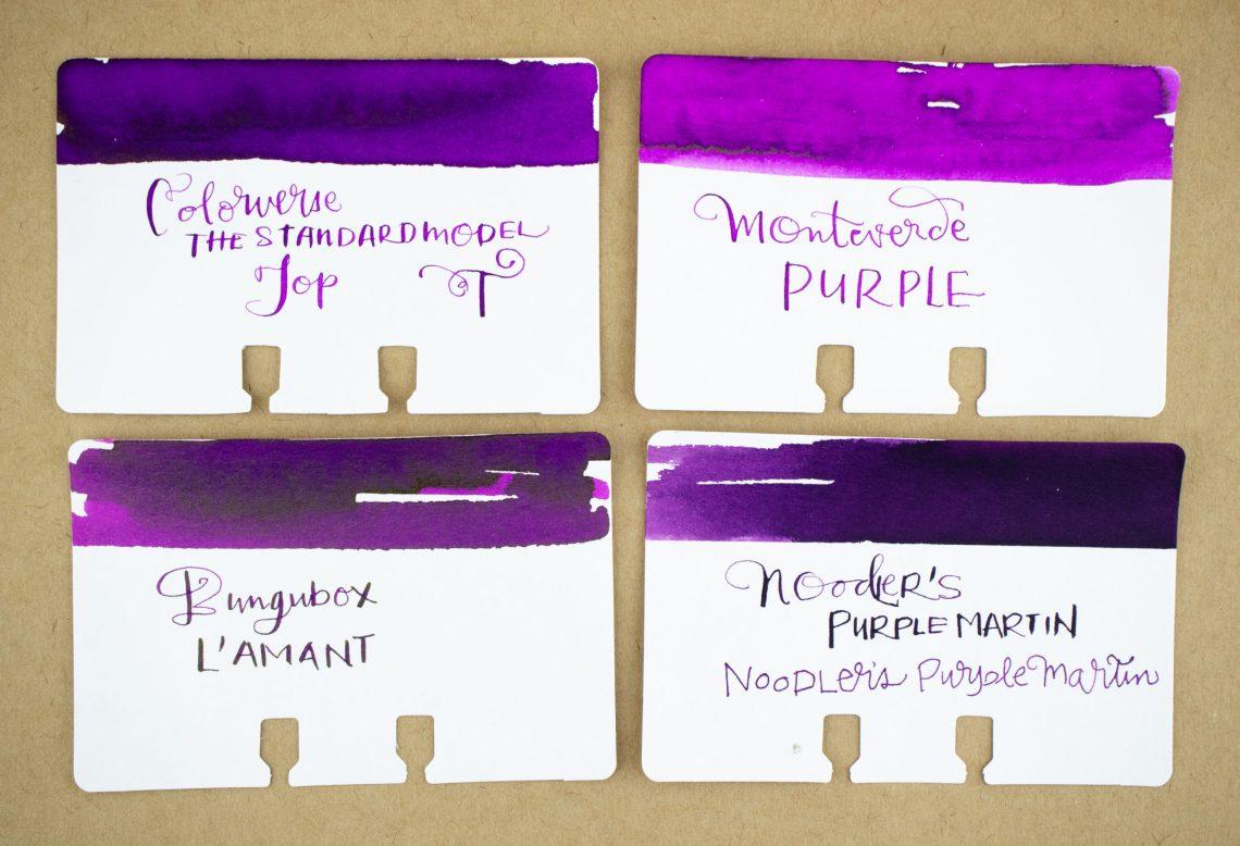 Colorverse Standard Model Top Ink Comparison