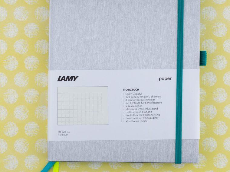 Notebook Review: Lamy Notebook (Notizbuch) A5