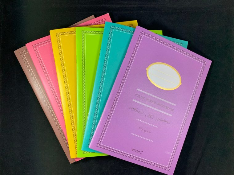 Paper Review: Midori Color Paper Notebooks