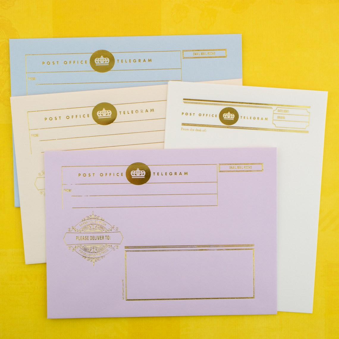 LA Paper Lover Telegram Letter Kit