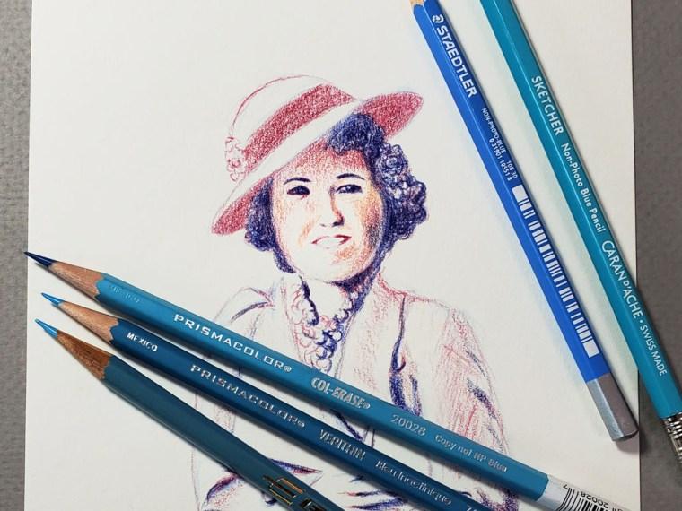 Pencil Review: Non-Photo Blue Pencils