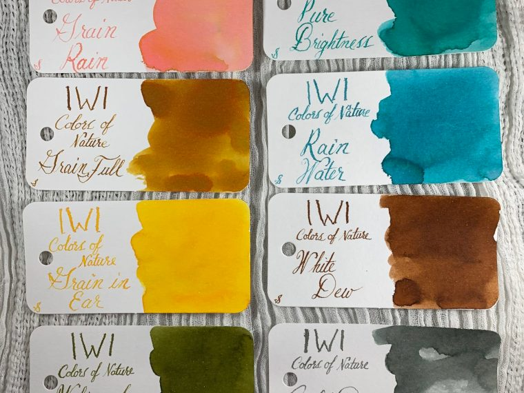 Ink Review: IWI Colors of Nature Part 2