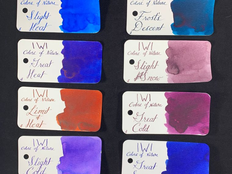 Ink Review: IWI Colors of Nature Part 3