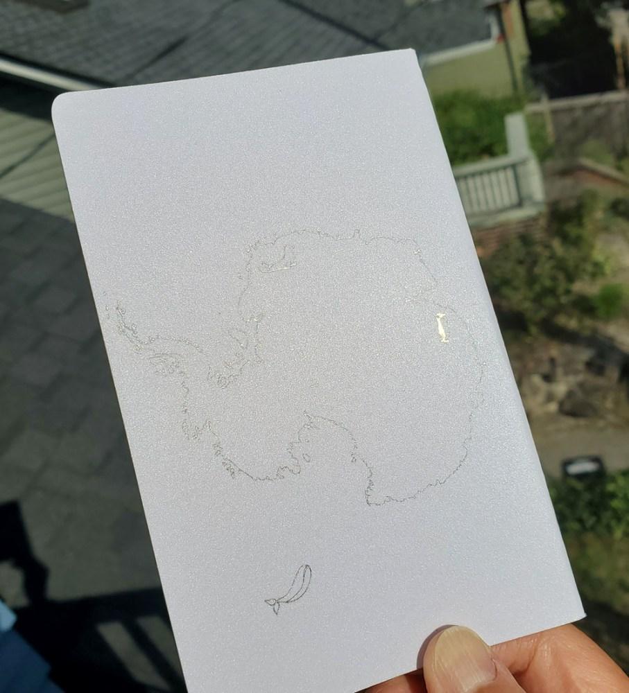 4 - Antartica back cover