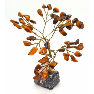 Tigers Eye Gem Tree