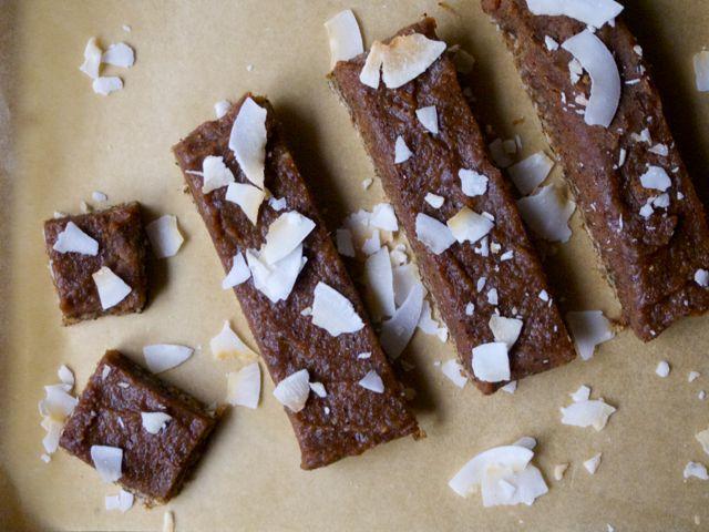 Carob raw bars (gluten, dairy, nut, caffeine free)