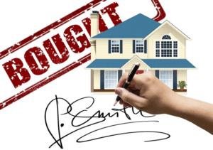 Signature, professional real estate agent