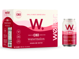 Buy Watermelon CBD Sparkling Water 12-pack