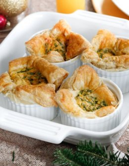 puff pastry egg souffles