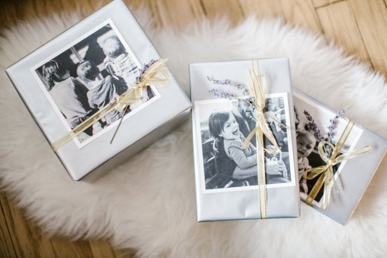 personalized gift wrapping