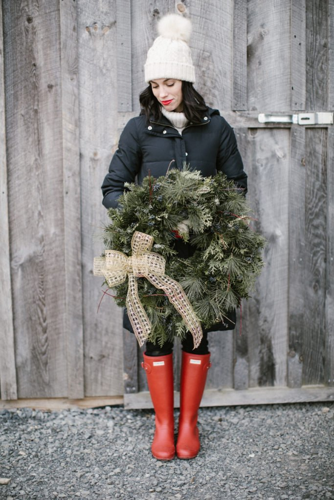 Top 4 Holiday Trends to wear year after year featured by top Pittsburgh fashion blog, Wellesley & King: festive outerwear