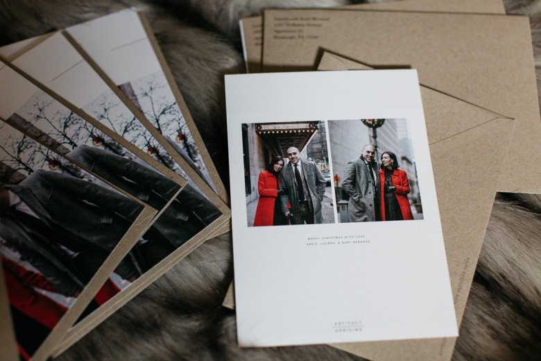 artifact uprising holiday cards | Where to Order the Best Holiday Cards + 15% Off Your Purchase featured by top Pittsburgh life and style blog Wellesley & King