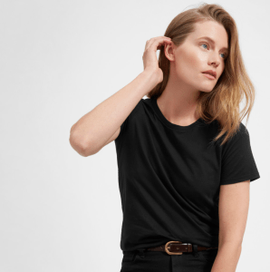 Top US fashion blogger, Wellesley & King, shares favorites by Ethical Fashion Brand Everlane: everlane cotton crew