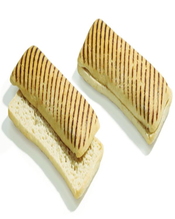 Ciabatta Pre-Grilled Pre-Sliced (3X120gr)