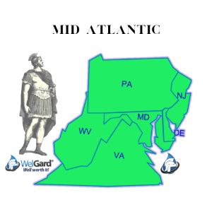 Mid Atlantic Coverage Map - WelGard