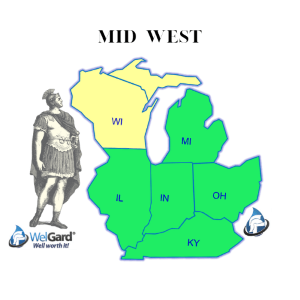 North East Coverage Map - WelGard