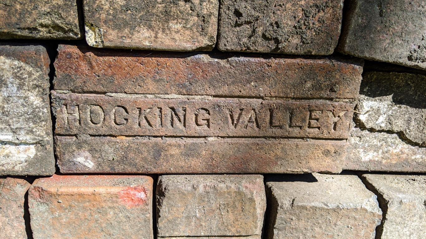 brick street paver patio restoration at