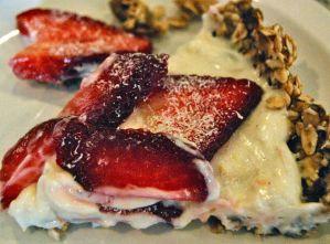 Weekly Recipe – Yogurt Date Tart with White Chocolate