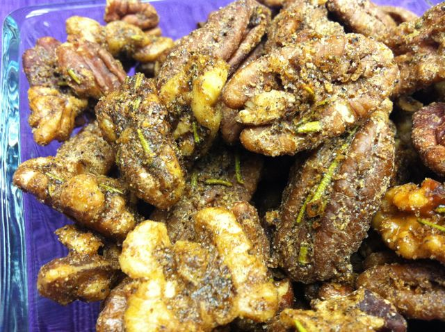 Recipe – Cardamom & Rosemary Roasted Nuts