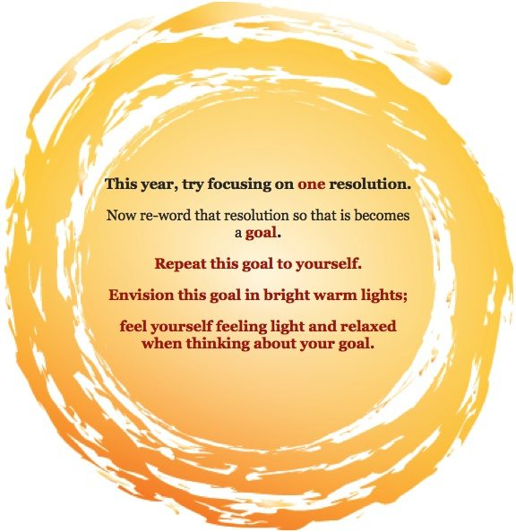 Three Tips for New Year's Resolution Success!