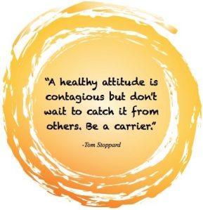 Catch a Healthy Attitude