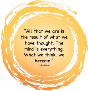Inspiration - Buddha Becoming What We Think