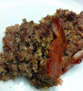 Venison Quinoa Meatloaf