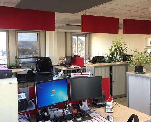 Panneaux acoustiques open space
