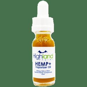 Highland Pharms Hemp Plus Vape Oil – 10ml/165mg