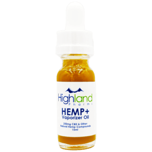 Highland Pharms Hemp Plus Vape Oil – 10ml/165mg