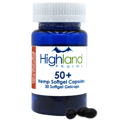 Highland Pharms 50mg CBD Capsules