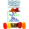 Highland Pharms All naturla CBD gummies - 20mg