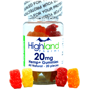 Highland Pharms All Natural CBD Gummies – 20mg