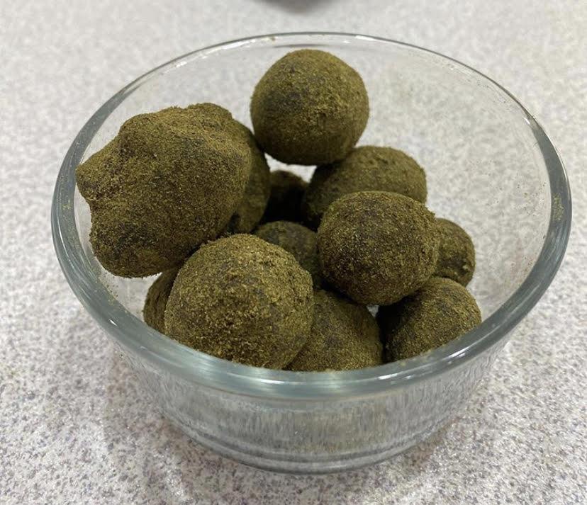 cbd moonrocks in a bowl