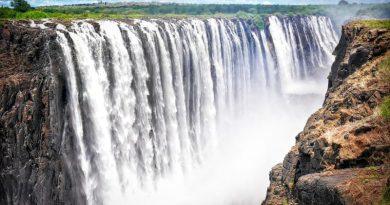 Peligran las cataratas de Victoria Falls
