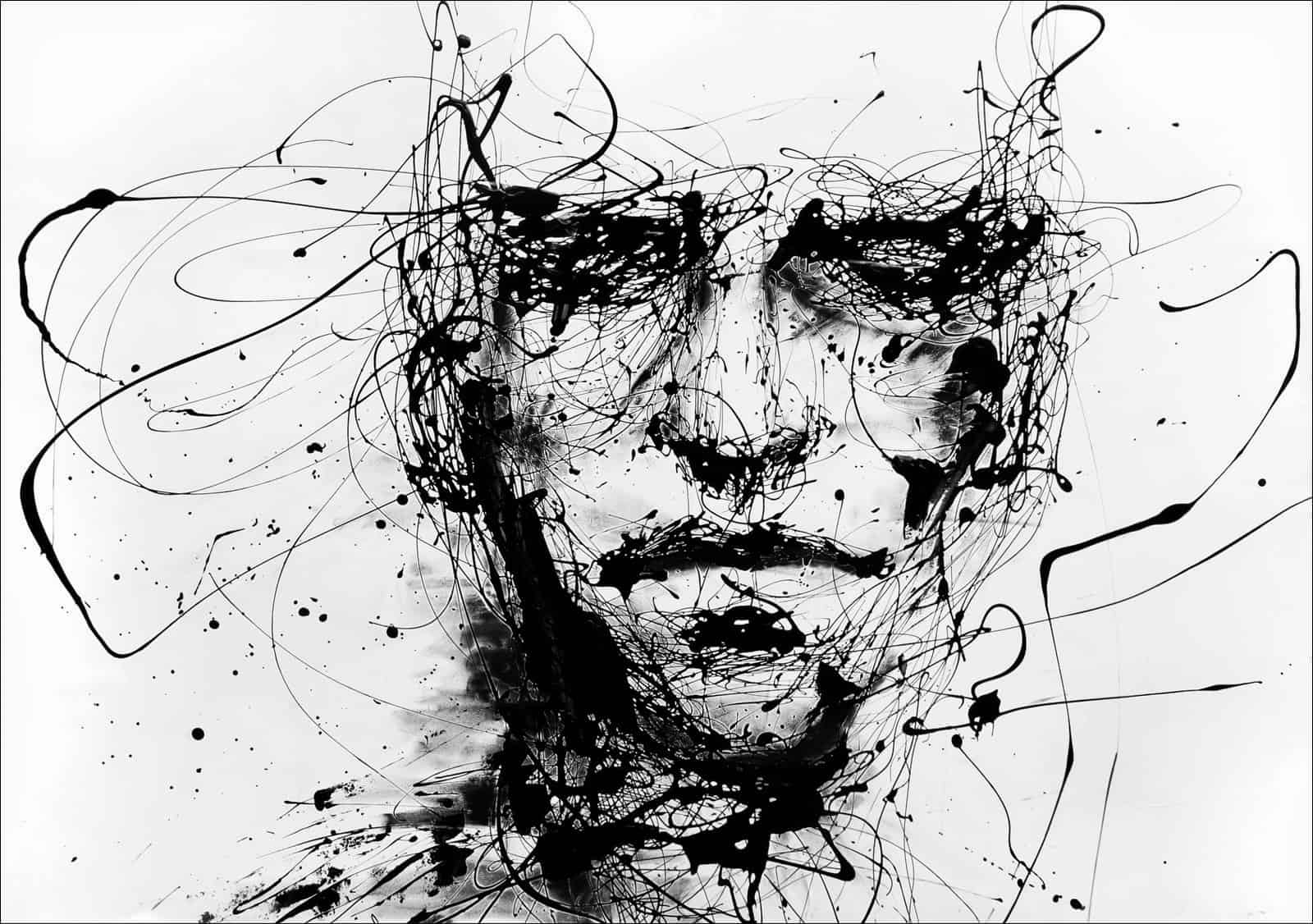 The confused mind, affected by anxiety and depression