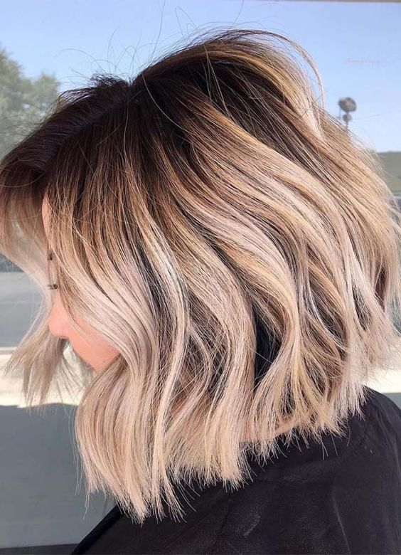 medium length 2020 hair color trends
