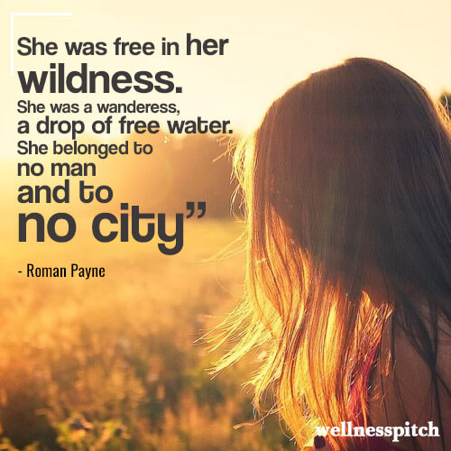she was in her wildness