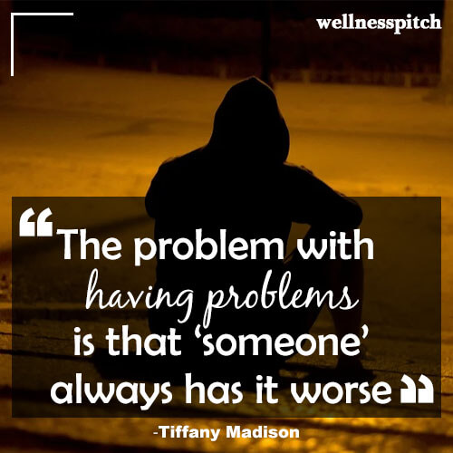 the problem with having problem