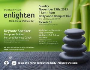 Enlighten-Wellness event