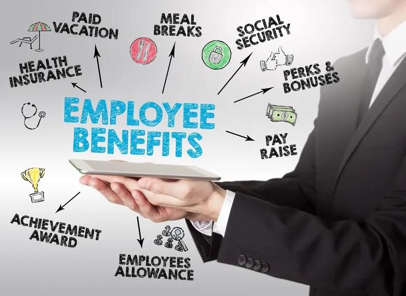 Employee Benefits Graphic