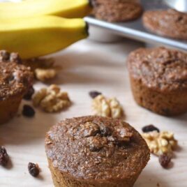 Super Chunk Banana Bran Muffins.