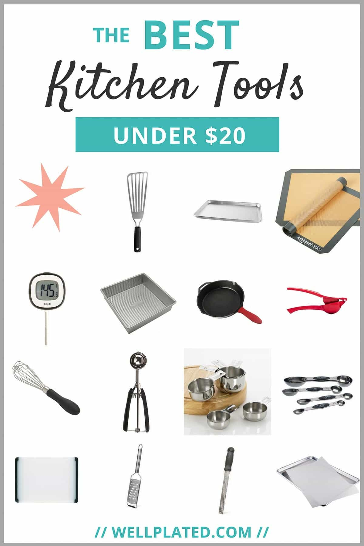 My Favorite Kitchen Tools Under 20