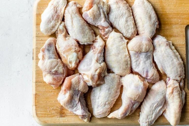 split chicken wings for air frying