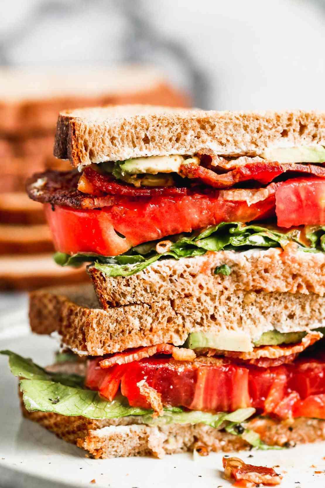 fancy blt sandwich