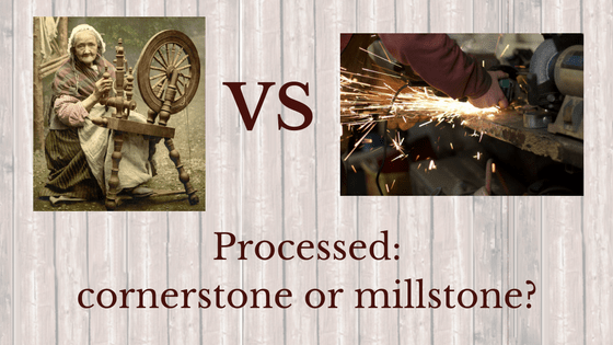 Processed: cornerstone or millstone?