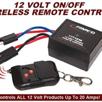 20 Amp Heavy Duty 12 Volt On/off Wireless Remote Control Switch